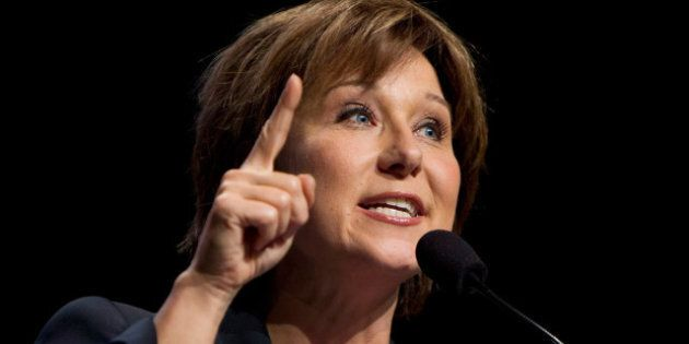 BC Election 2013: Christy Clark Attacks Adrian Dix At Riding