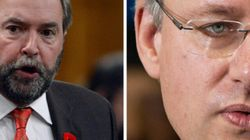 Harper Calls Mulcair An