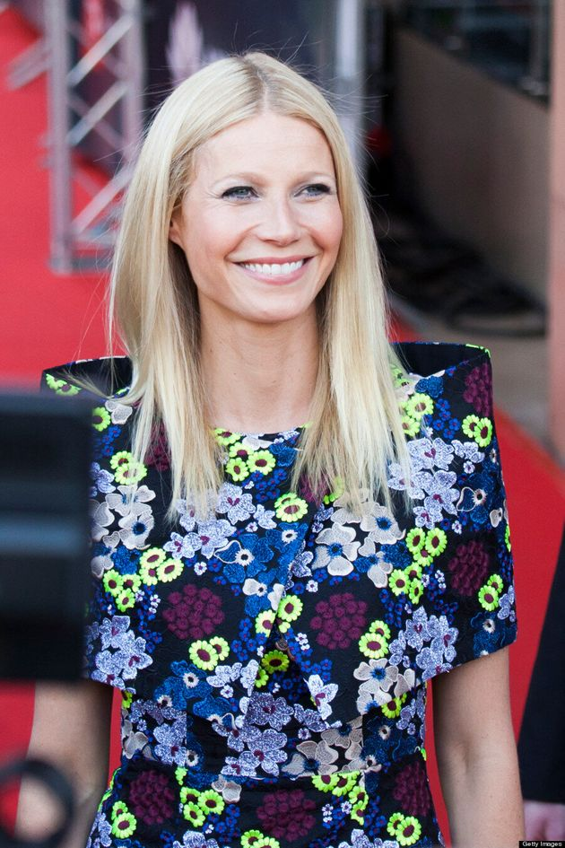 Gwyneth Paltrow At The 'Iron Man 3' Red Carpet Premiere: Pepper Potts Goes Floral
