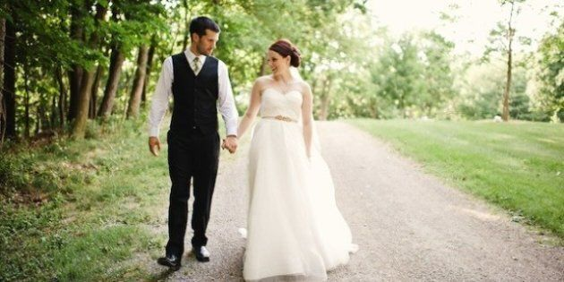 Real Wedding: Ridiculously Cute Handmade Ontario