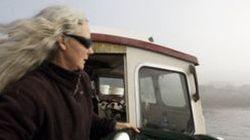 Salmon Activist Goes
