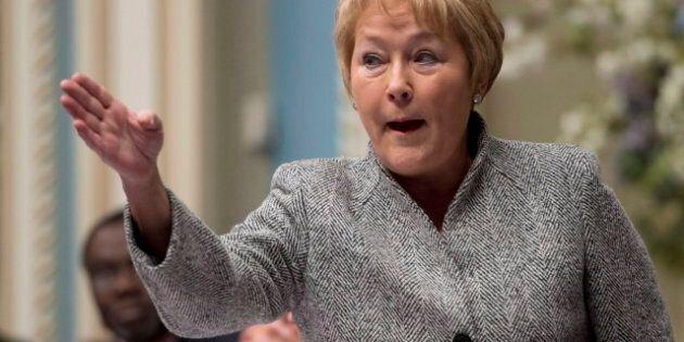 Pauline Marois Denounces Quebec Mosque