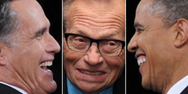 Larry King Says Two-Party System Not Producing Good