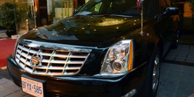 Harper India Visit: Motorcade Includes 2 Armoured Vehicles Shipped From