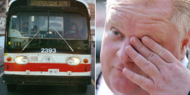 Rob Ford 'Disturbed' TTC Riders Were Stranded For His