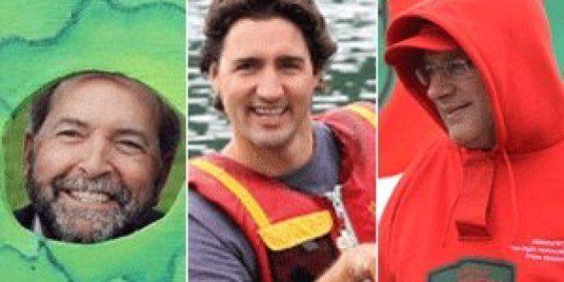 What Harper, Trudeau, Mulcair Did Over The Summer Break