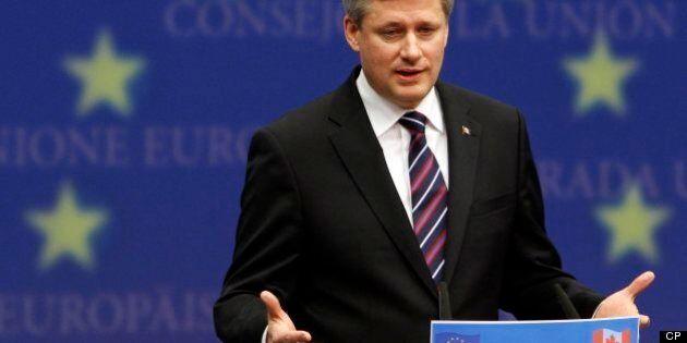 Canada-EU Free Trade: Harper Sounding Conciliatory On Stalled Talks, EU Official