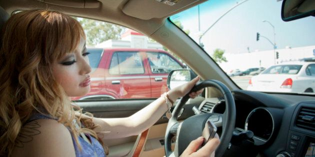 ICBC, Police Crackdown On Distracted