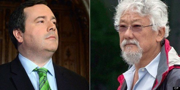 Jason Kenney: David Suzuki's Immigration Views 'Toxic And