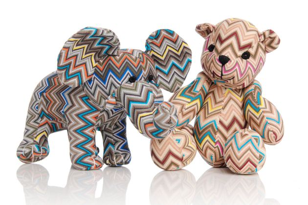Missoni Bear: Margherita Missoni To Launch Charitable Stuffed Animal Collection At Holt