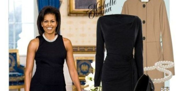 Michelle Obama Style: Polyvore Showcases First Lady's Style From 2008 Election To