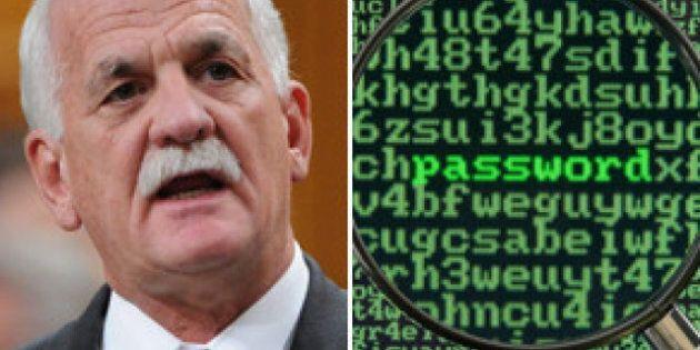 Bill C-30, Tory Internet Surveillance Legislation, Is Officially