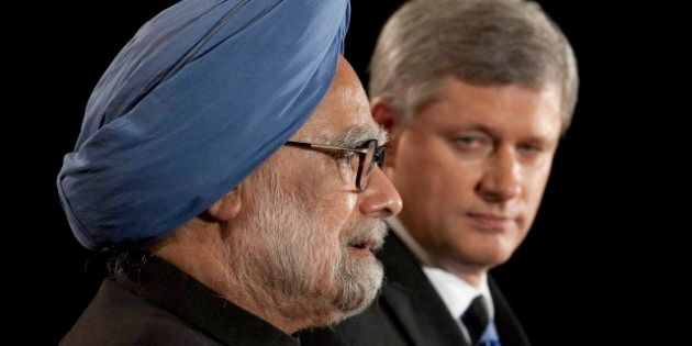 Canada-India Nuclear Deal Sealed On Stephen Harper's India