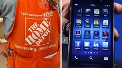 Home Depot Move Hits BlackBerry