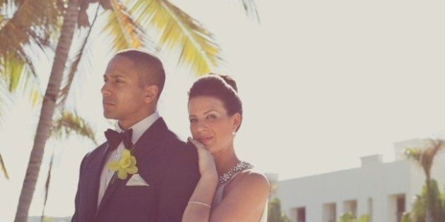 Real Wedding: Breathtaking Destination Wedding In Punta Cana Combines Classic Rock And