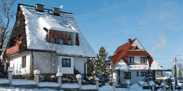 houses mountain