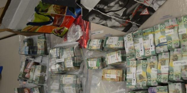 BC, Ontario Police Bust Pot Trafficking, Money Laundering