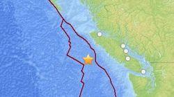 6.3-Magnitude Quake Hits B.C.