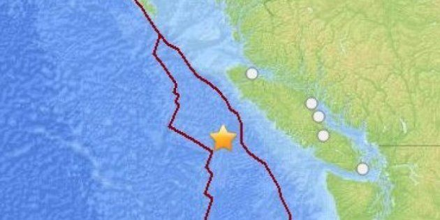 B.C. Earthquake: 6.3-Magnitude Recorded Off Vancouver