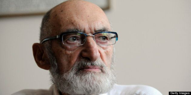 July 02, 2008 - Dr. Henry Morgentaler speaks at a press conference this morning at his Toronto abortion clinic, after it was announced he will receive the Order of Canada. Toronto Star/Tony Bock (Photo by Tony Bock/Toronto Star via Getty Images)