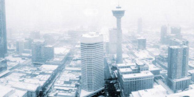 Southern Alberta Snowstorm: Calgary, Pincher Creek, Crowsnest Pass Prepare For Major Snowfall (PHOTOS,
