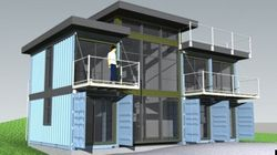 Designers Turn Shipping Containers Into