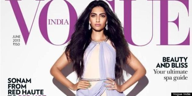 Sonam Kapoor Vogue India: Bollywood Star Covers Two June 2013 Issues