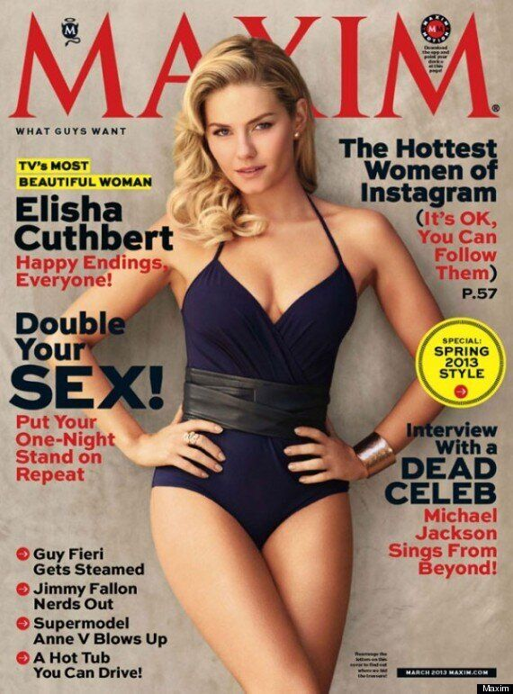 Elisha Cuthbert Is Maxim Magazine's Most Beautiful Woman In