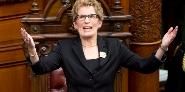 Kathleen Wynne Pantsuit Question Sparks Outrage