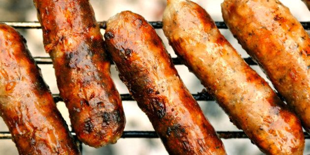 Sausage Attack: Two Men Arrested After Assault, Wild Game Sausage