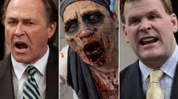 Baird And Martin Squabble Over Zombie Apocalypse ...
