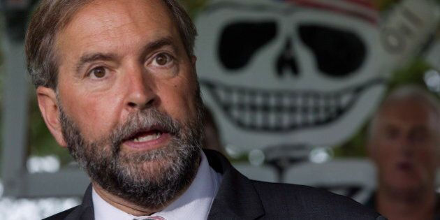 Thomas Mulcair's NDP Will Run Negative Ads Against Trudeau Liberals In Next Federal