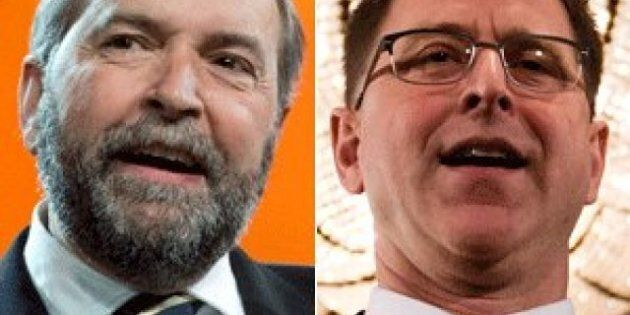 Thomas Mulcair May Be Running Against Adrian Dix, Other NDP Governments In 2015