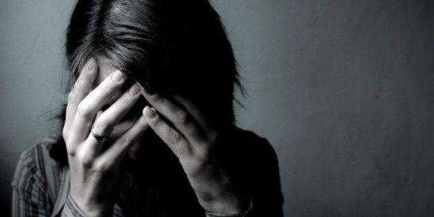 Woman Depressed.