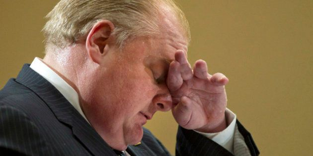 Rob Ford Admits He Was Bullied About His