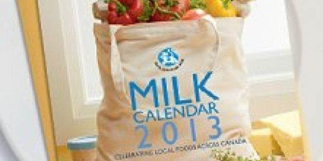 2013 Milk Calendar: Recipes From Across Canada Show Homegrown