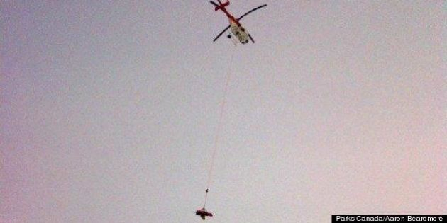 Banff Crevasse Death: Calgary Man Killed After Summiting Mount Hector Near Lake