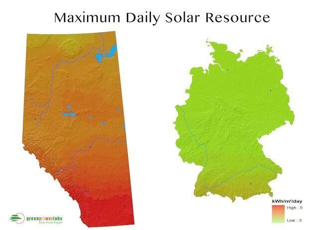 Solar Energy In Alberta: Sunny Days