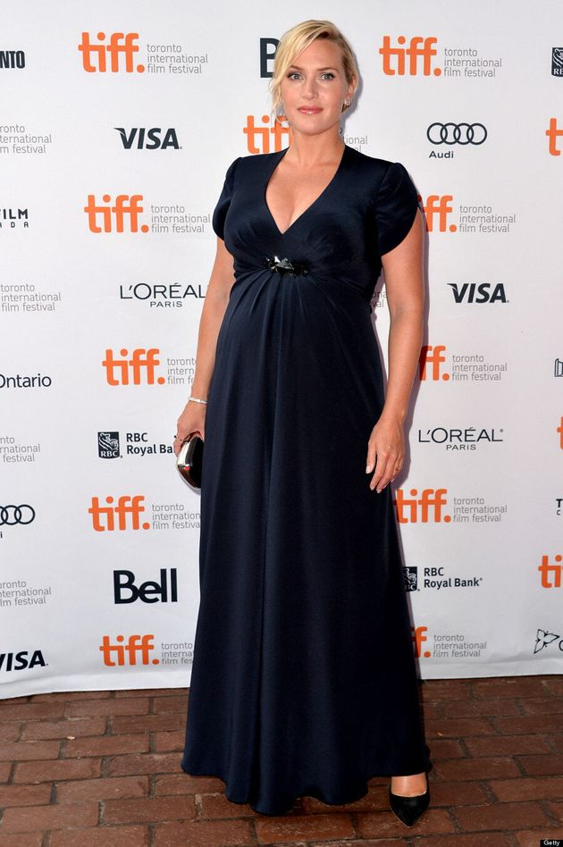 Kate Winslet TIFF 2013: 'Labor Day' Star Shows Off Baby Bump On Red Carpet