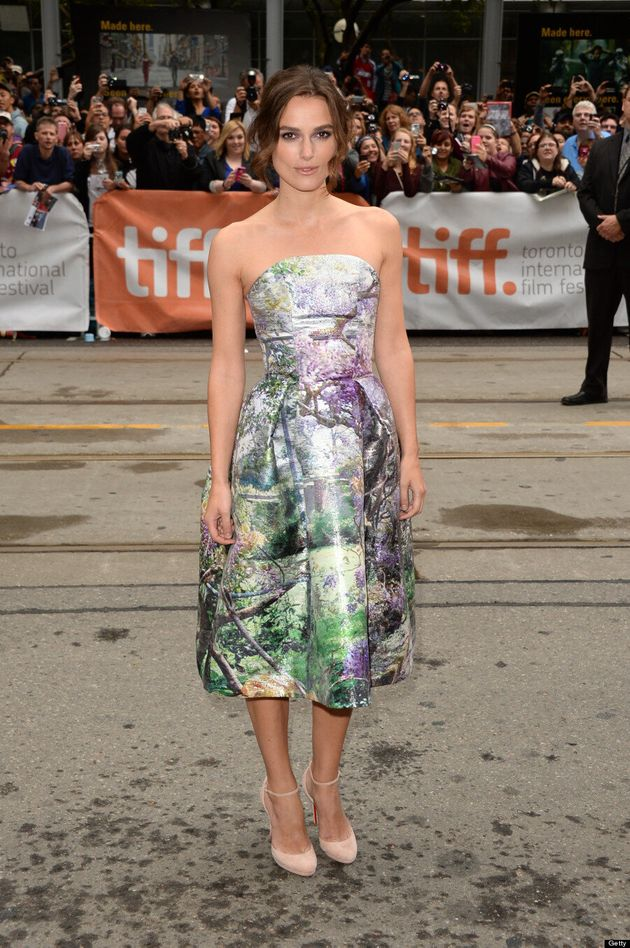 Keira Knightley TIFF 2013: 'Anna Karenina' Star Wears Hypnotic Dress On Red Carpet