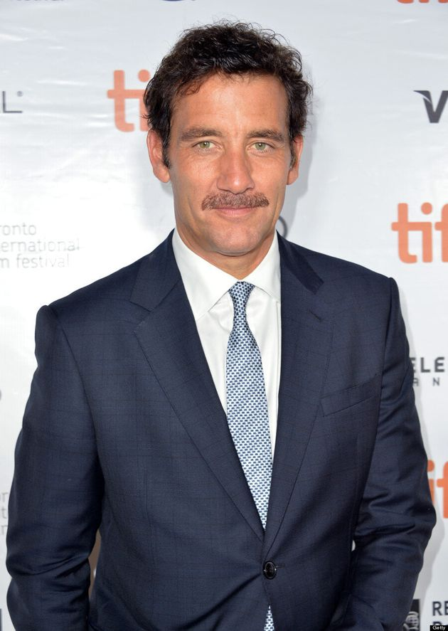 Clive Owen TIFF 2013: 'Children of Men' Star's Moustache Takes Over Red Carpet