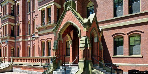 gothic porch harvard