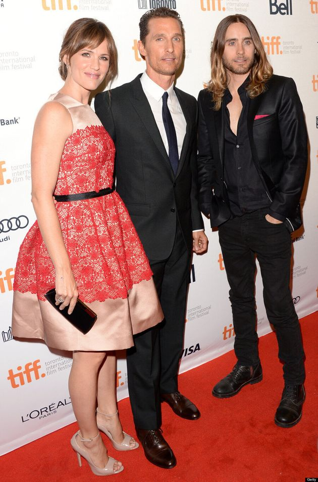 Jared Leto TIFF 2013: Jennifer Garner's Red Carpet Co-Star Hasn't Aged A Day