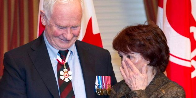 Ralph Klein Order Of Canada Ceremony Bittersweet, Former Alberta Premier's Wife Tears Up As Medal
