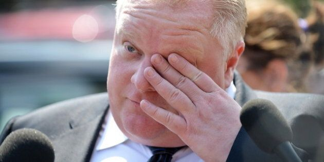 Rob Ford Apologizes For Blasting Toronto's Medical Officer Of
