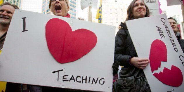 B.C. Teachers' Court Battle Could Cost Taxpayers $6 Billion, Says
