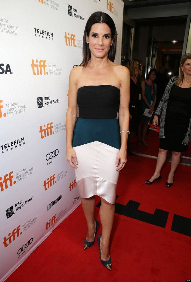 Sandra Bullock TIFF 2013: 'Gravity' Actress Walks The Red Carpet Without George Clooney