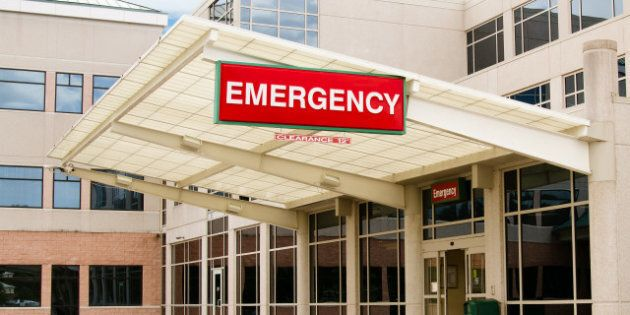 entrance to emergency room