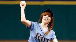 Carly Rae Throws Embarrassingly Bad First