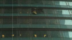 Glass Falls From Trump Tower In